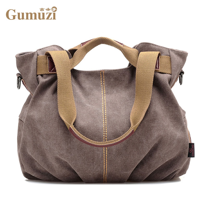 New 2017Women Bag Canvas Handbags Messenger bags for Women Handbag Shoulder Bags Designer Handbags High Quality