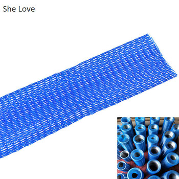 She Love 12mx80mm Blue Color Thread Net Spool Saver DIY Sewing Machine Embroidery Machine Tool Accessories Parts