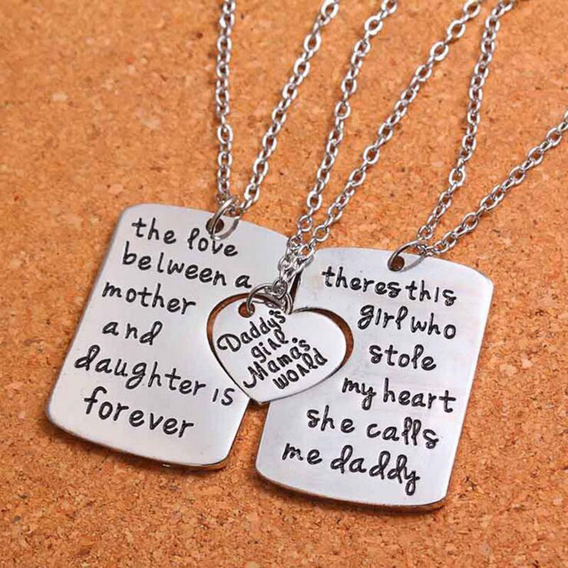 The love between a mother and daughter is forever necklace the love between a mother and daughter is forever necklace pendants for son dad aloadofball Choice Image