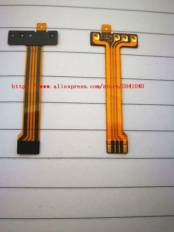 2PCS/NEW Flash Lamp Flex Cable For SONY Cyber-Shot DSC-HX50 DSC-HX60 HX50V HX50 HX60 V RX1 Digital Camera Repair Part