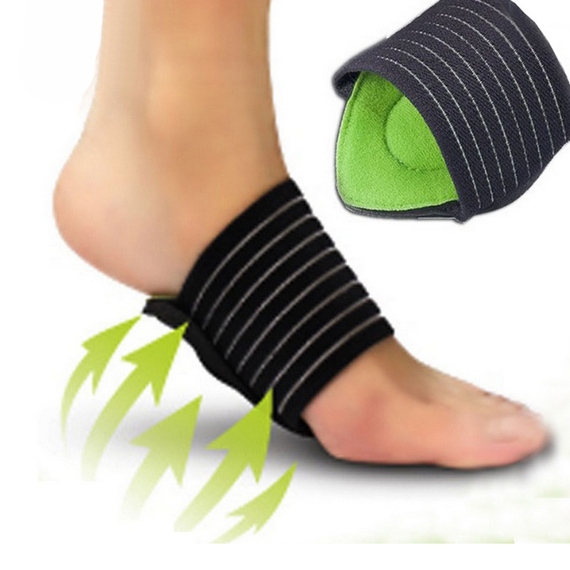 Skin Care Tools Foot Arch Support Plantar Fasciitis Heel Pain Aid Foot Run-up Pad Feet Cushioned Cushioned Shoes Insole Sports Accessory Hot Foot Care Tool