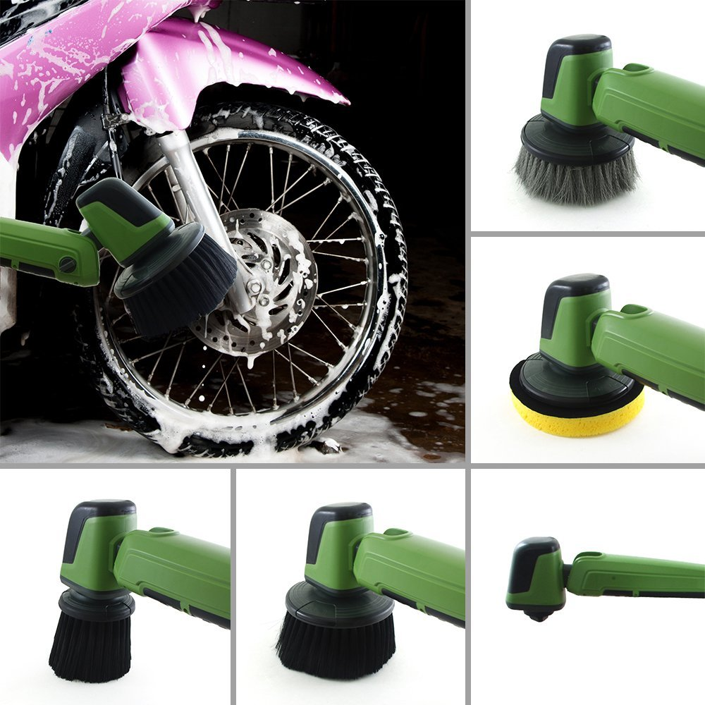 12v Electric Car Wash Machine Clean Polish Brush Cleaner With Telescopic Rod In Steam Cleaners From Home Liances On Aliexpress