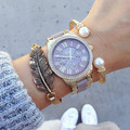 2016 Hot relógio de marca de luxo de GENEBRA silicone relógios de pulso das mulheres relógio de forma as mulheres se vestem relógios masculinos relógios Relogies
