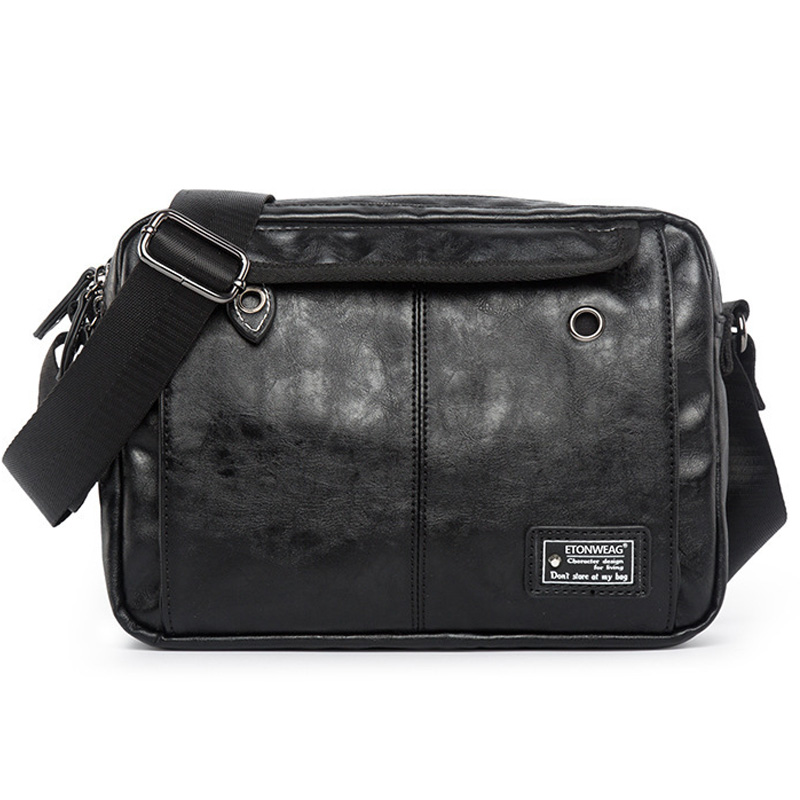 Fashion Men Shoulder Bags Travel Bag PU Leather Male Briefcase Brand Luxury High Quality Messenger Bag For Men Laptop Bag Casual