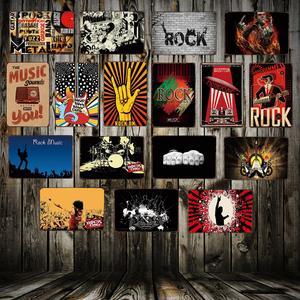 DECORMAN Music Metal Tin SIGN Shop Decor Vintage Poster