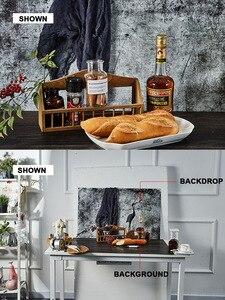 Image 5 - 56x90 ซม.INS ถ่ายภาพฉากหลังกระดาษกันน้ำ 2 ด้านไม้ซีเมนต์พื้นหลังสำหรับอาหาร