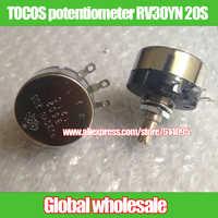 5 piezas TOCOS potenciómetro RV30YN 20 S B102 B202 B502 B103 B203 B503 B104 1 K 2 K 5 K 10 K 20 K 50 K 100 K