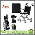 Portátil leve FoldingTravelling aeroporto cadeira de rodas idosos deficientes com largura de 36 cm ou 41 cm ou 46 cm