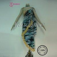 Ballroom Dance Dresses Latin Performance Wear For Ladies L 11305