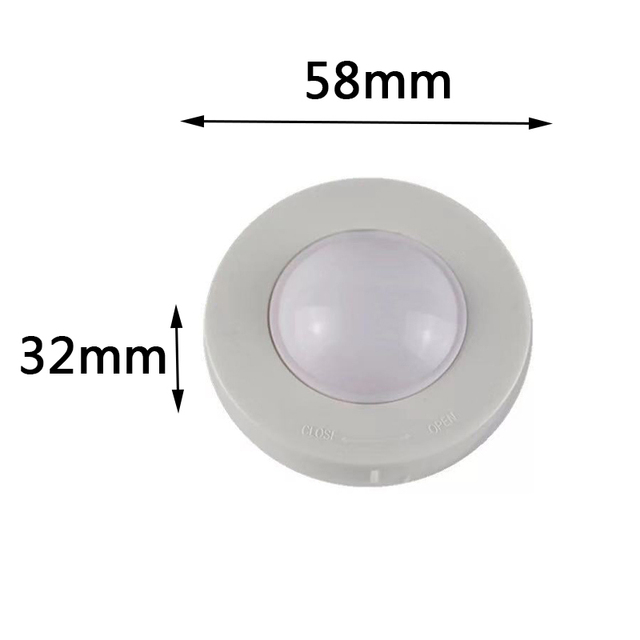 RGB 12 Colors Dimmable LED Under Cabinet Light LED Puck Light For Closet Cupboard Showcase Drawer Wardrobe Kitchen Night lamp