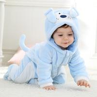 Androktones Winter Children Onesie Flanne Cute Dog Girls Boys Animal Kids Clothes Cosplay Pajamas Halloween Christmas