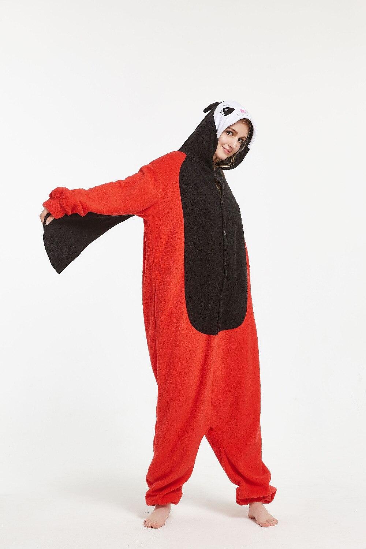 ladybug Onesies Pajamas Unisex Adult Pajamas Cosplay Costume Animal Onesie Sleepwear Jumpsuit