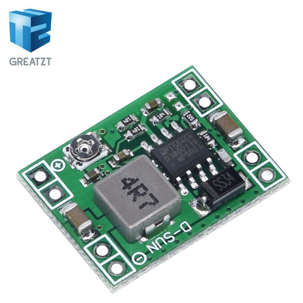 GREATZT ультра маленький размер DC DC понижающий модуль питания MP1584EN 3A Регулируемый понижающий преобразователь для Arduino заменить LM2596|power module|dc dc24 v | АлиЭкспресс