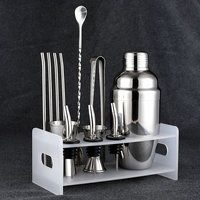 Stainless steel cocktail shaker set shaker cup easy to Cocktail Kit snow grams cup bar tools incorporating convenient