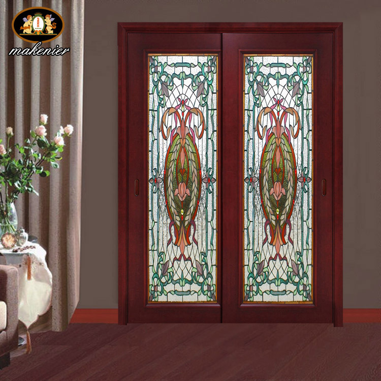 Custom Sliding Doors And Stained Glass Sliding Door Church Porch Off