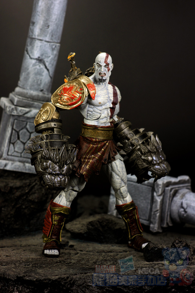 Hot Sale Neca Ultimate Kratos Classic Game God Of War 3