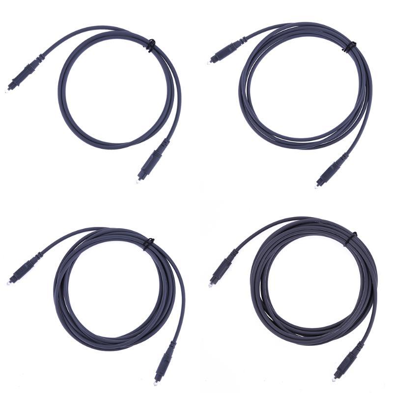 Digital Optical Audio Toslink Cable 1m 2m 3m 5m OD4.0 Toslink Male to Toslink Male optical fiber for Hi-Fi Sound TV