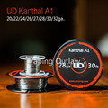 Original 30ft/15ft UD Atomizer DIY Coil Clapton Wire Kanthal A1 Clapton Wire for Electronic Cigarette Heating