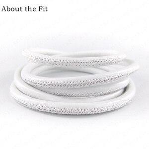 Image 5 - Cordes en cuir dagneau cousues 5mm 100M avec noyau en coton, cordes en cuir véritable en peau de mouton pour Bracelet, fabrication de bijoux