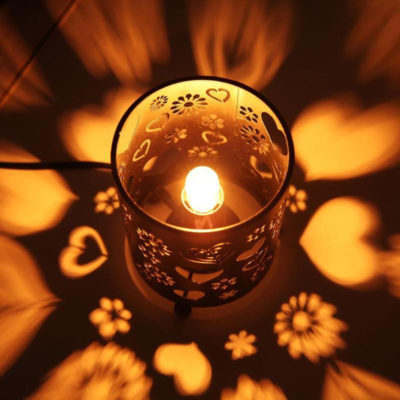 E14 Air Purifier Crystal Salt Rock Night Lamp LED Light for Office Home For Bedroom