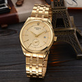 Fashion Chenxi Brand Gold Watch Men Luxury Business Man Golden Waterproof Unique Casual Quartz Male Dress Clock Gift Calendar