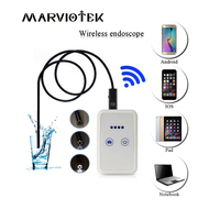 8mm Lens Wifi Android Iphone Endoscope Camera Waterproof Snake Tube Pipe Borescope 2 0M Iphone Camera