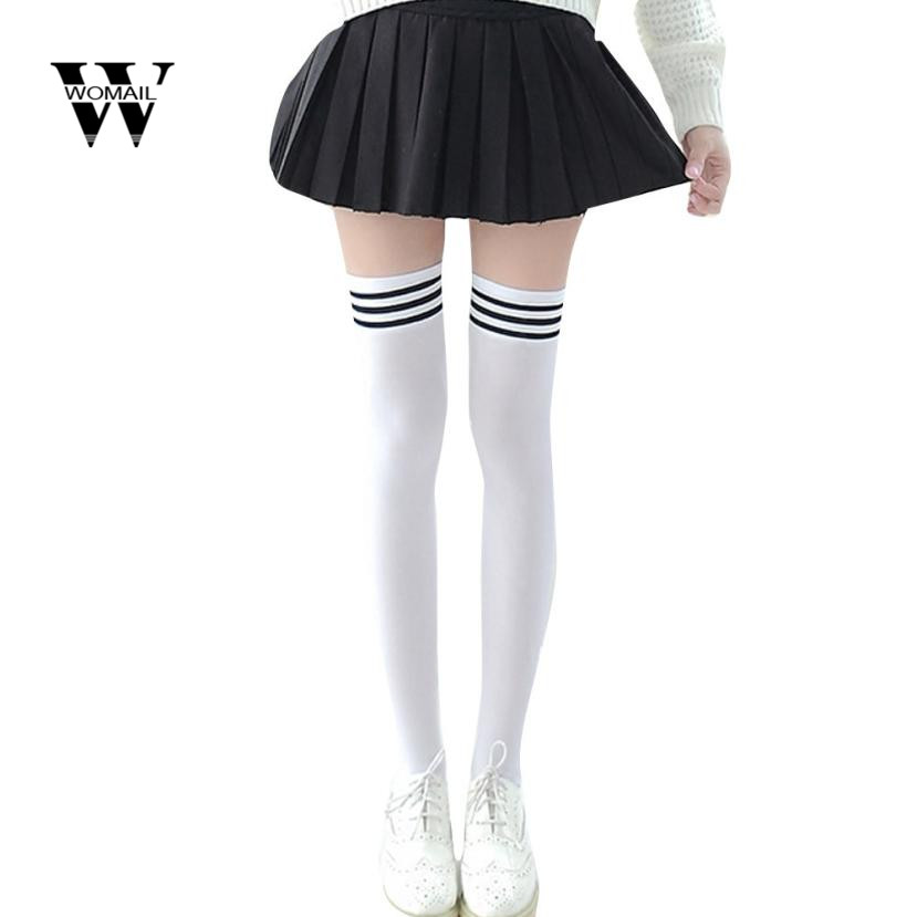 322bea9b75 Amazing Winter Women 1 Pair Fashion Thigh High Over Knee High Socks Girls  Womens New Fashion Dec 4