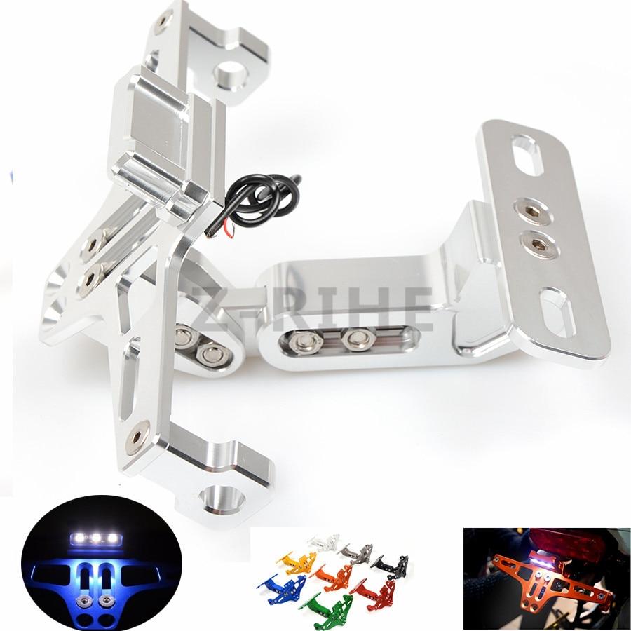 Pour Universal Fender Eliminator License plate Bracket Ho Tail Tidy accessoires moto Pour KTM 125 200 390 DUC RC 125/200/3