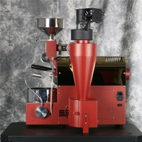 Coffee Roaster 220V Intelligent Control Coffee Machine fanny Small coffee roaster gas coffee roaster