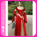 Free Shipping Red Color Fun World Renaissance Nymph Costume One Size M4726