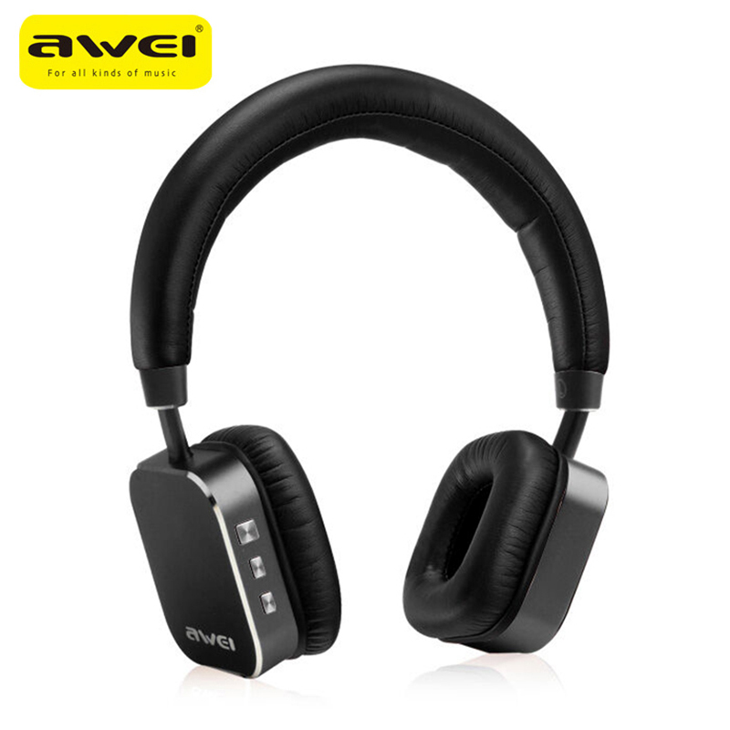 Awei A900BL Wireless Earphone Headphones Bluetooth 4.0 Sport Headset CVC 6.0 with Microphone Voice Control Noise Cancelling
