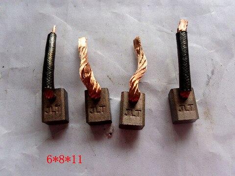 escovas eletricas de carbono para motor de iniciante suzuki 10 pcs lote 6 8