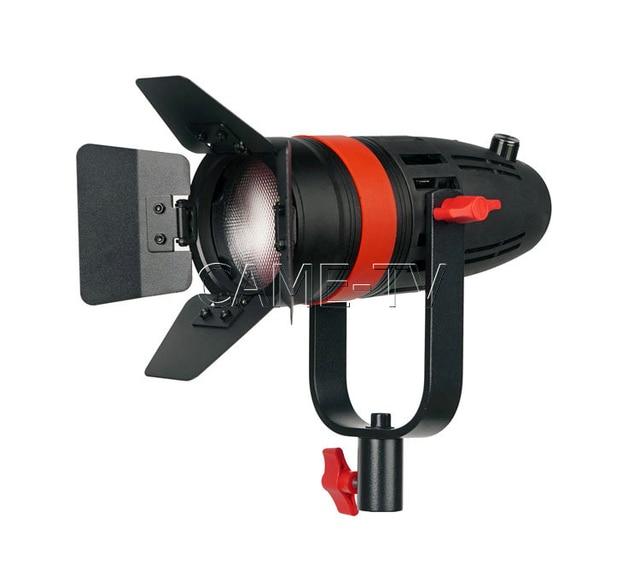 1 pc CAME TV boltzen 55w fresnel focusable led luz do dia F 55W led luz de vídeo