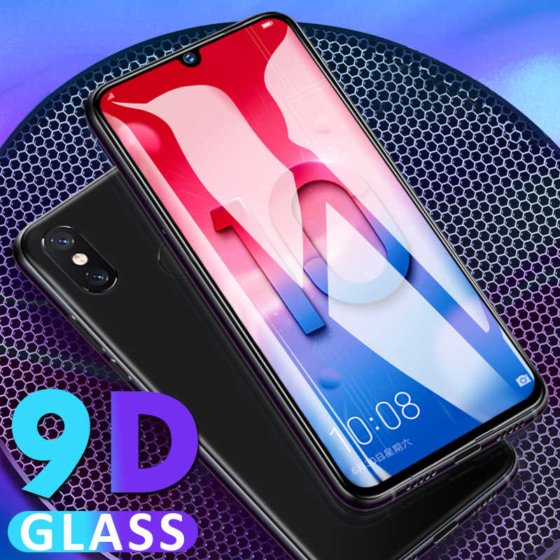 9D Full Cover Protective Tempered glass For Huawei Y6 Y9 prime 2019 Screen Protector film For Huawei P Smart 2019 P20 P30 Glass