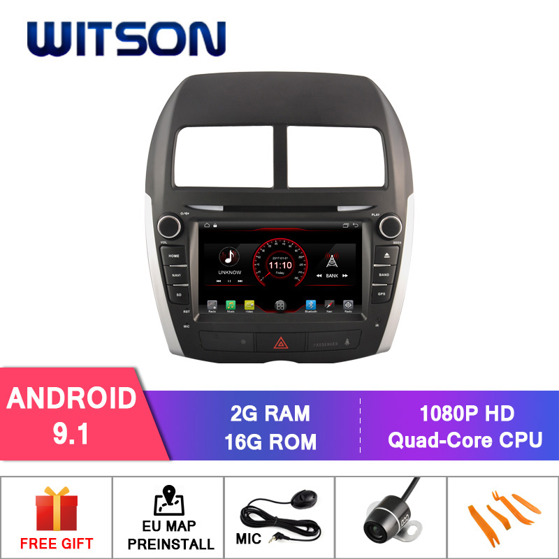 WITSON Android 9.1 AUTO CAR RADIO DVD NAVIGATION FOR MITSUBISHI ASX  MIRROR LINK/ 4G/DVR/DAB/OBD/TPMS SUPPORT-in Car Multimedia Player from Automobiles & Motorcycles    1
