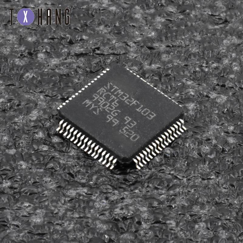 1PCS MCU ARM IC ST LQFP-64 STM32F103R8T6 STM32F103R8T6TR