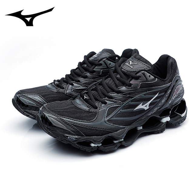 0672f083232f Mizuno Wave Prophecy 6 Professional Men Shoes black original Sport Sneakers  Fencing Shoes Weightlifting Shoes Size 40-45