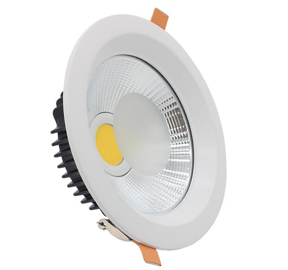 New products listed Recessed Dimmable LED Downlight COB 30W LED Spot light LED Ceiling Lamp AC85V- 245V Free shipping new products listed recessed led downlight cob 30w 40w led spot light led ceiling lamp ac85v 245v free shipping