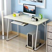Высокое Качество Простой Мода Компьютерный Стол Домашнего Офиса Исследования Письменный Стол Ноутбук Стол Компьютерный Стоял Рабочий Стол