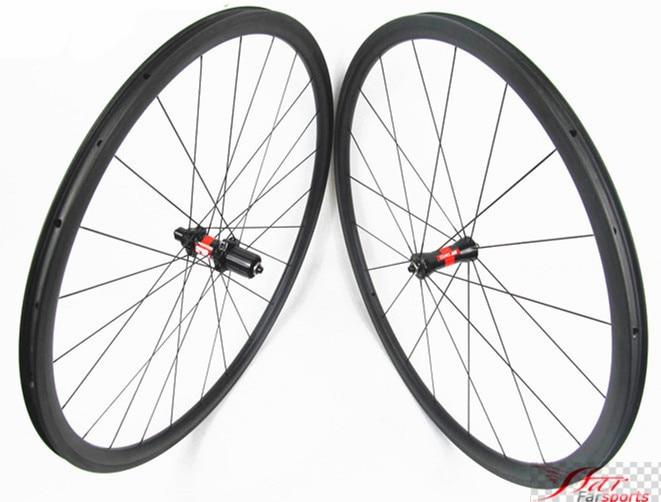 1165g Farsports FSC29T 27 25 DT240S 29er tubeless MTB carbon wheels with hookless rims, 29 hookless design mountain bike wheel
