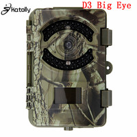 Skatolly D3 큰 눈 HD 1080 마력 야간 적외선 0.5 초 트리거 시간 정찰 사냥 카메라 야생 동물 트레일 비디오 사냥
