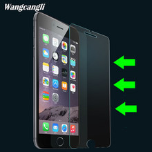 Protective glass on the for iphone 5S screen protector on tempered glass if film case caver for iphone 5 6 S 7 8 X SE plus glass(China)