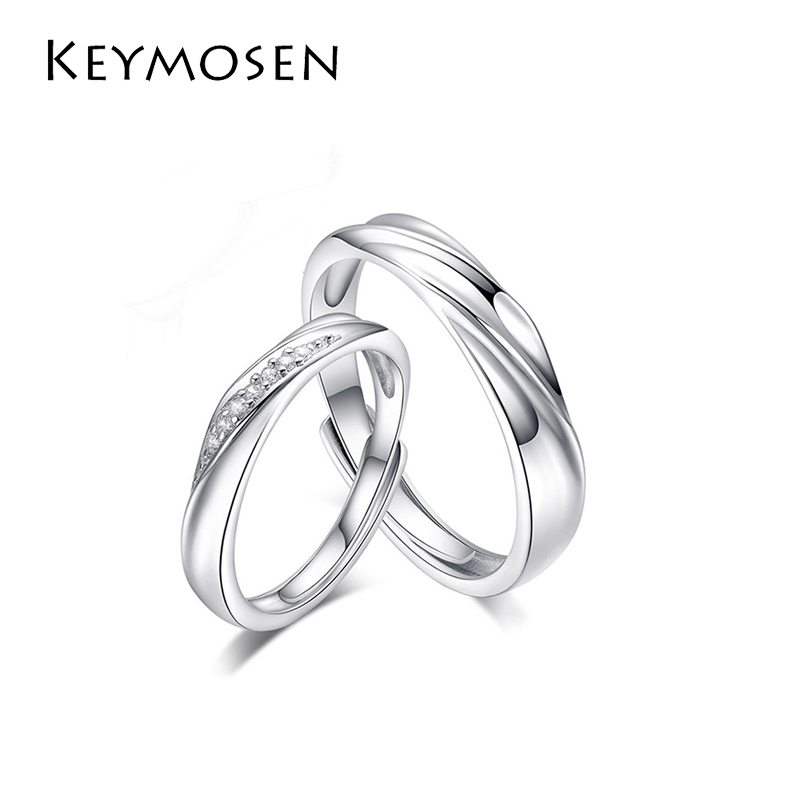 1pcs 925 Sterling silver couple ring men and women models openning ring jewelry1pcs 925 Sterling silver couple ring men and women models openning ring jewelry