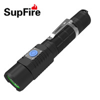 Portable LED Flashlight Rechargeable USB Charger Torch CREE XML2 U2 Super Bright Strong Light Tail Switch Control Wide Range HOT