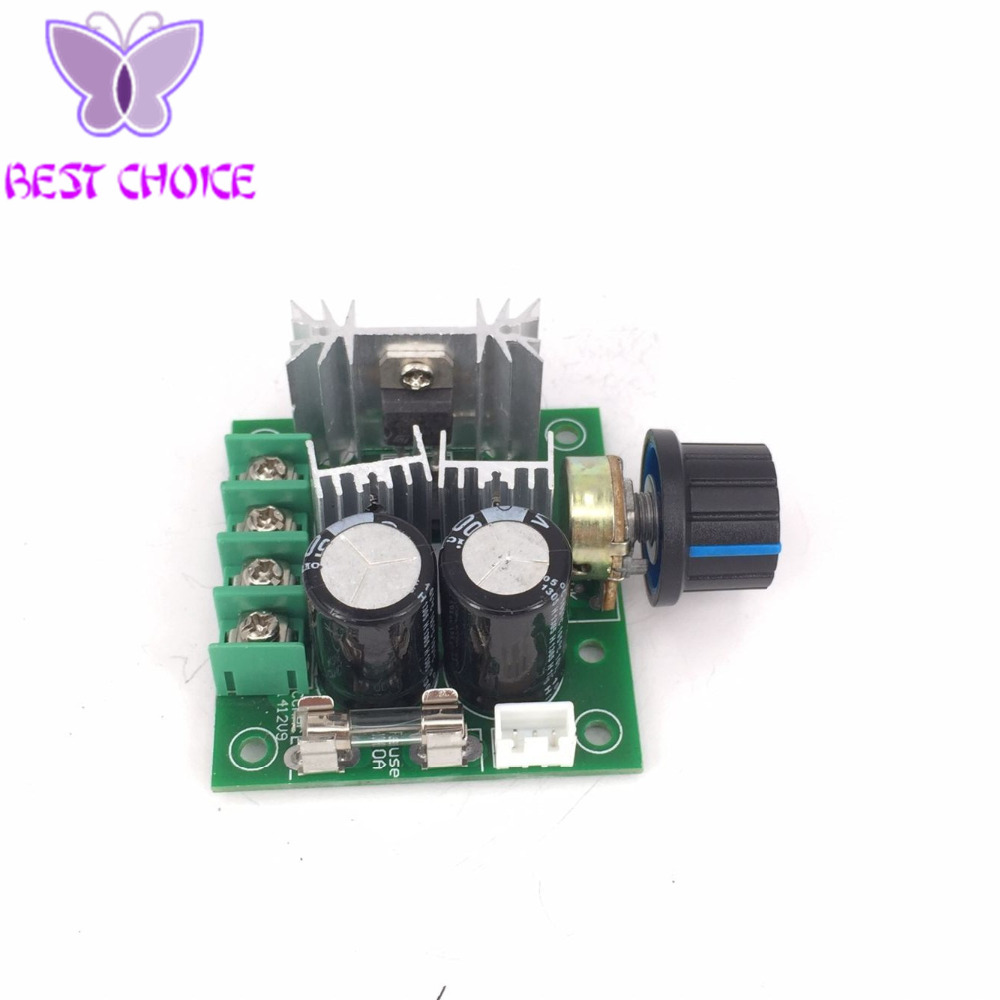 1pcs 12v 40v 10a Pulse Width Modulation Pwm Dc Motor Speed Control Switch 13khz In Integrated Circuits From Electronic Components Supplies On