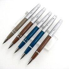 الجناح سونغ 601a 0.5 مللي متر غرامة بنك الاستثمار القومي فاكوماتيك قلم حبر معدن ABS الجسم الفضة