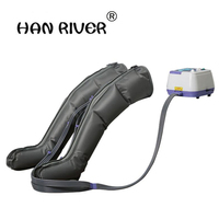 HANRIVER High quality Air wave pressure electric massager Waist Leg Arm Relax Instrument Promote Blood Circulation Pain Relief