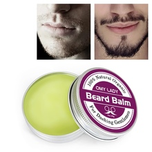 Men Beard Oil Balm Moustache Wax for styling Beeswax Moisture Smoothing Gentleme