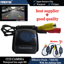 FUWAYDA Wireless CCD CAR REAR VIEW REVERSE BACKUP HIGH QUALITY CAMERA  FOR TOYOTA Prius 06-10/ Camry 09-10/ Aurion 06-11 HD
