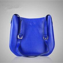 2016สวยแข็งผู้หญิงกระเป๋าถือสุภาพสตรีหนังแท้Cowhideซิปกระเป๋าพนังกระเป๋าสะพายMessenger OLสำนักงานถุง